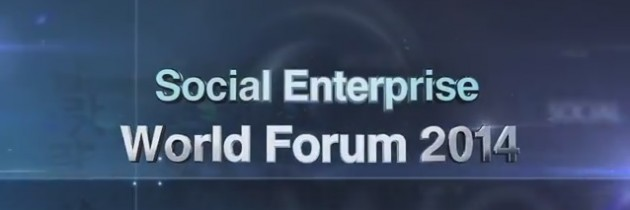 Social Enterprise World Forum 2014 in Seoul